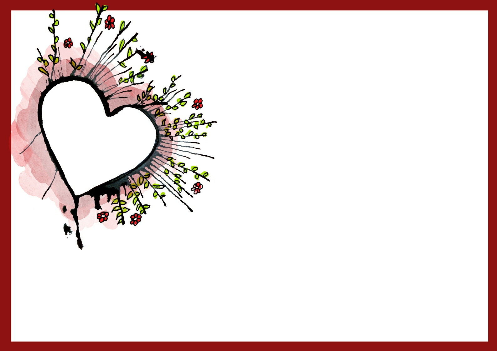Free Wedding Card Templates. les restaurants du coeur free vector ...