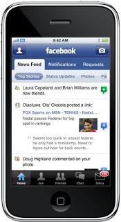 Iphone ile Facebook Connect