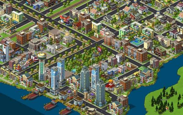 Facebook şehir oyunu CityVille