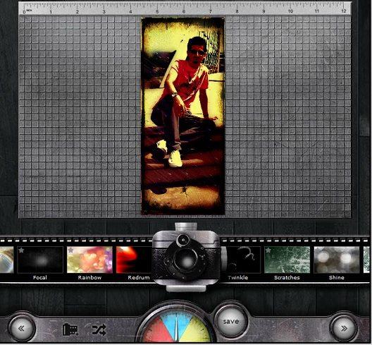 Online resim filtreleme