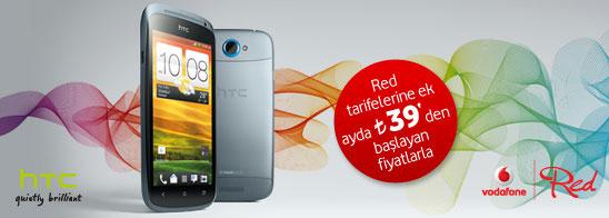 39 TL'ye Vodafone dan HTC One S