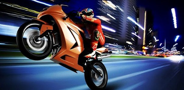 SpeedMoto android motor yarışı oyunu