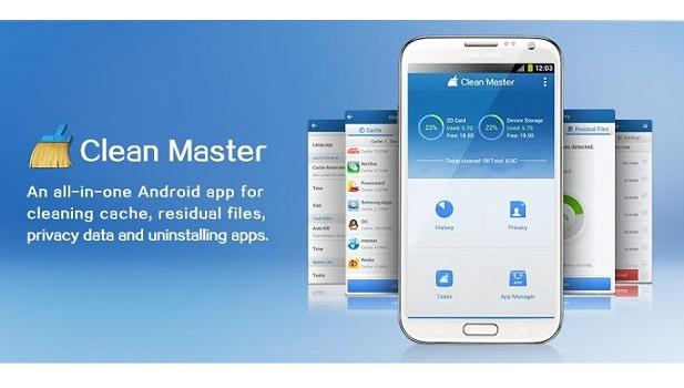 Android temizlik uygulaması Clean Master