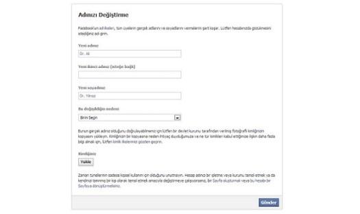 facebook-isim-degistirme