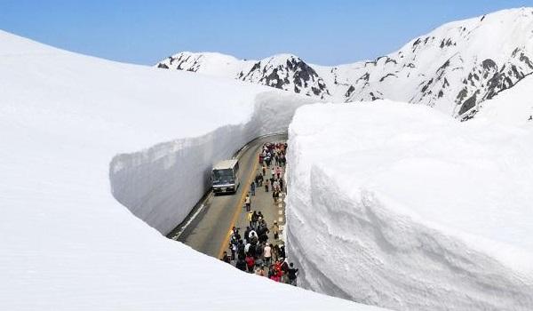 Japonya da kar koridorları