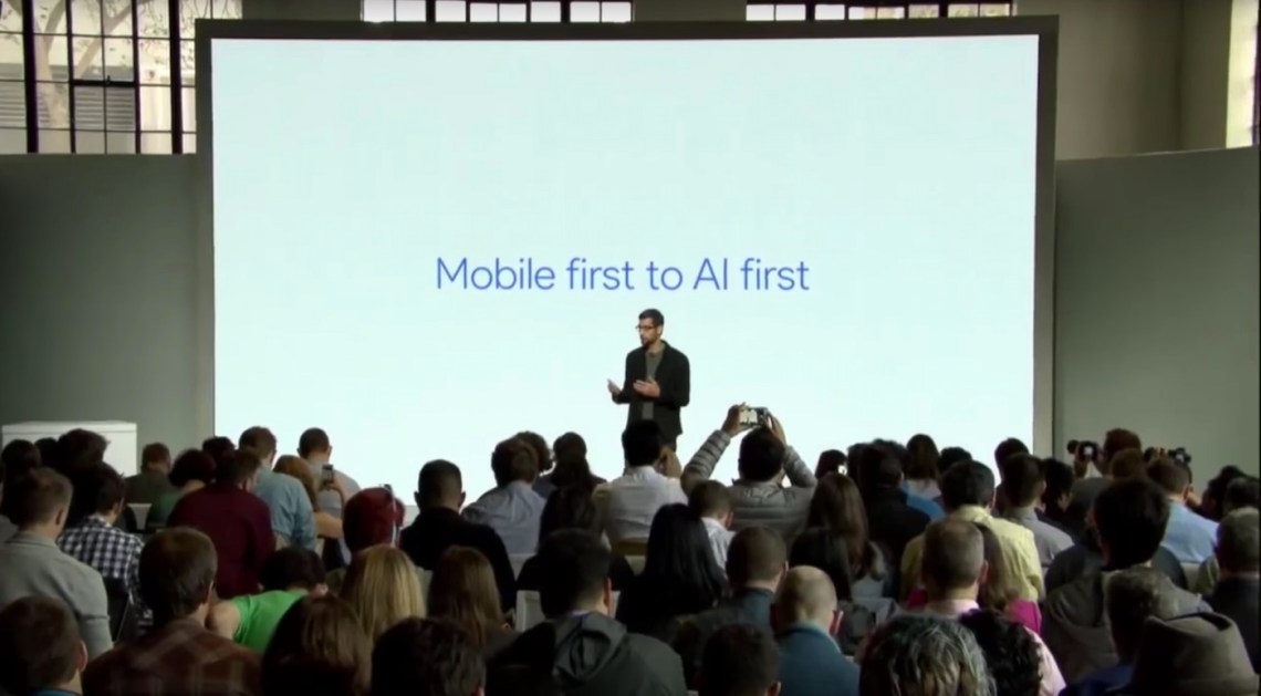 Sundar Pichai Stellt Das Konzept Ai Vor Zitate Der Google Grunder Uber Kunstliche Intelligenz