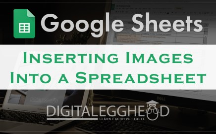 Google Sheets Tips - Header - Insert Images Into Spreadsheet