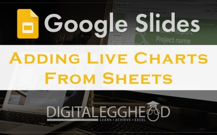 Google Slides Tips - Header - Add Charts