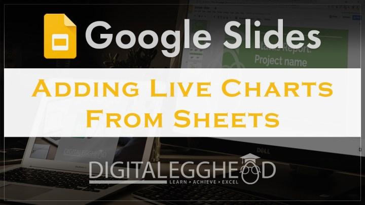 Google Slides Tips - Header - Add Charts