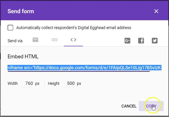 Google-Forms-Embed-Form-03-Copy-Code