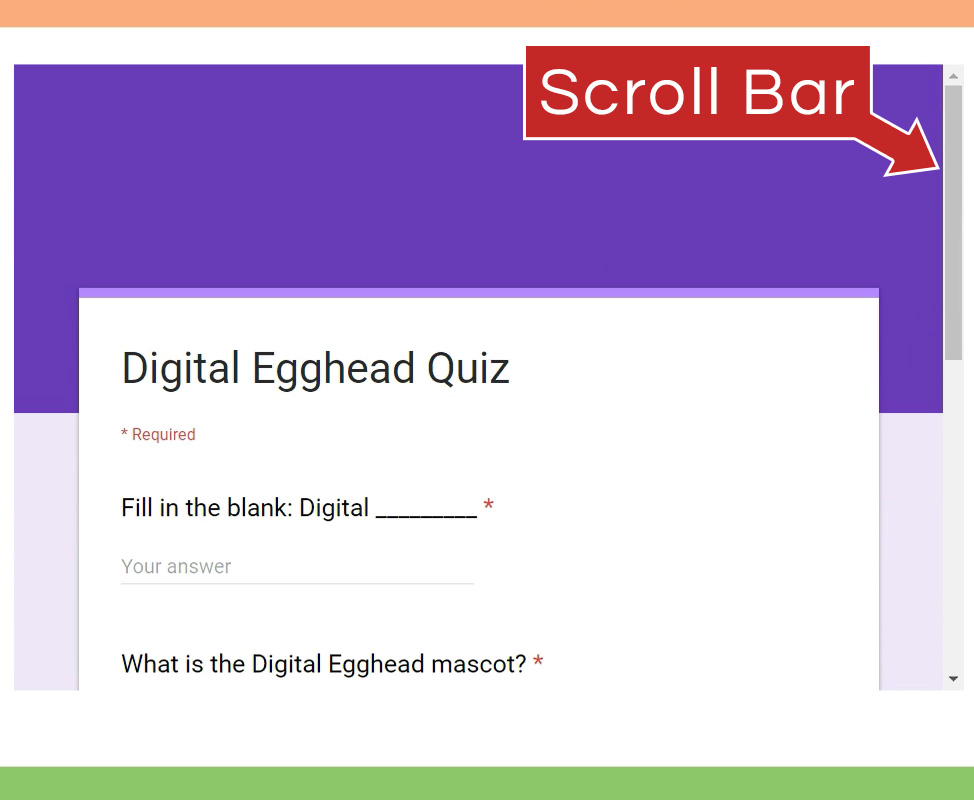 Embed a Google Form on Your Website - Digital Egghead