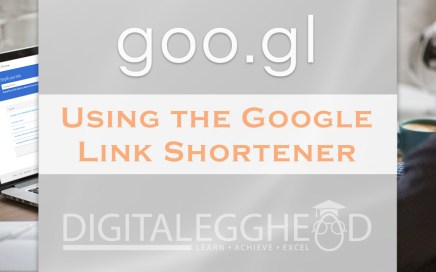 Google Link Shortener goo.gl - Header Image