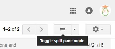 Gmail Tips - Enable Preview Pane - 04 Split Pane