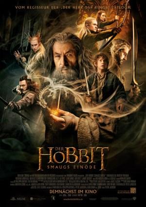 Der Hobbit-Smaugs Einöde - Hauptplakat
