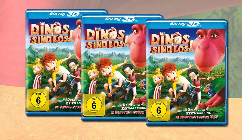 Gewinne Die Dinos sind los - Blu-ray