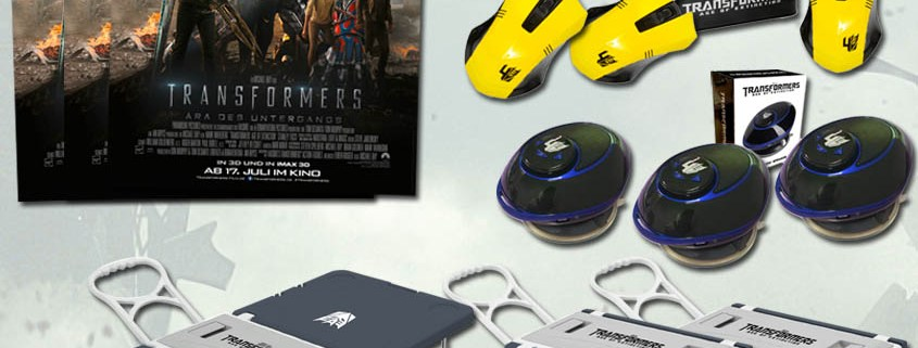 Gewinne Transformers 4