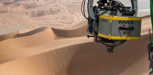 IMAX-Kamera Star Wars 7