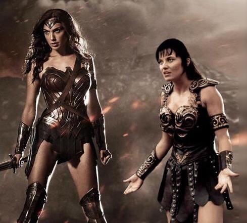 Wonder Woman vs Xena