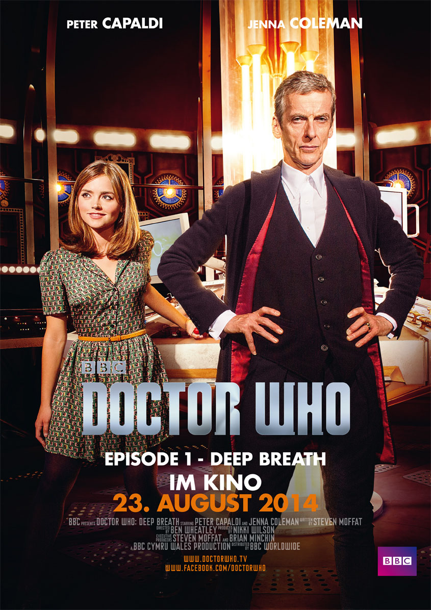 Doctor Who - Deep Breath Staffel 8 - Plakat