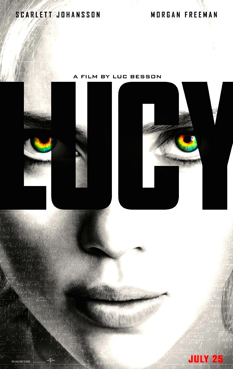 Lucy - Scarlett Johansson - Poster