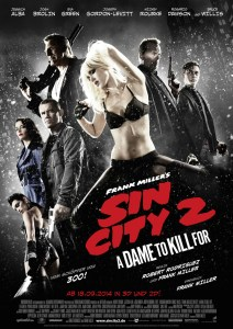 Sin City 2 A Dame to kill for - Plakat
