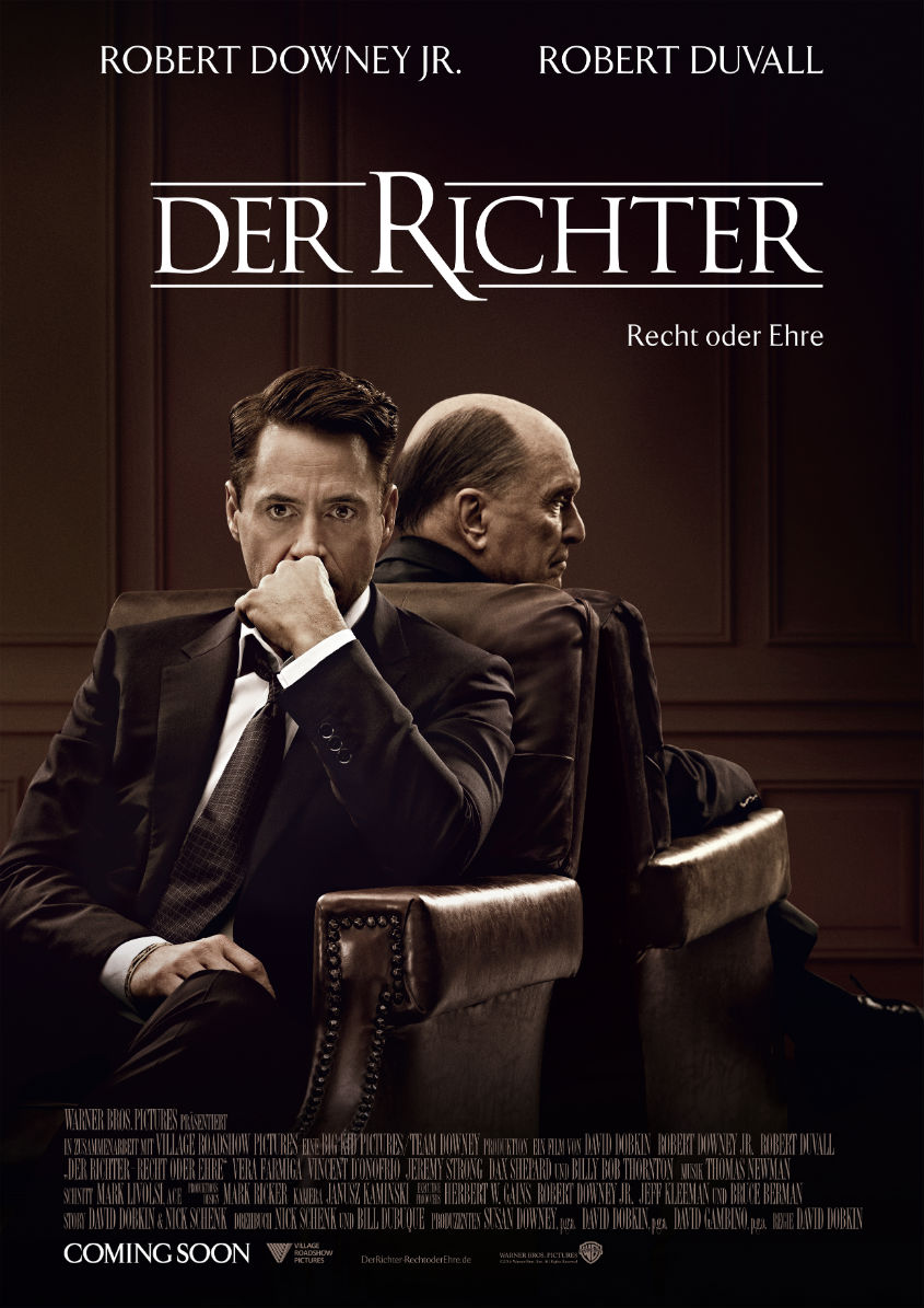 Plakat The Judge - Der Richter