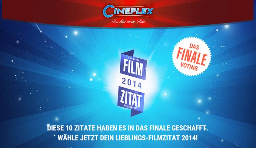 Cineplex Filmzitat 2014