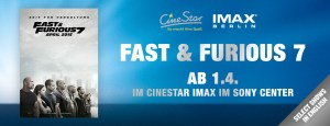 IMAX Fast and Furious 7