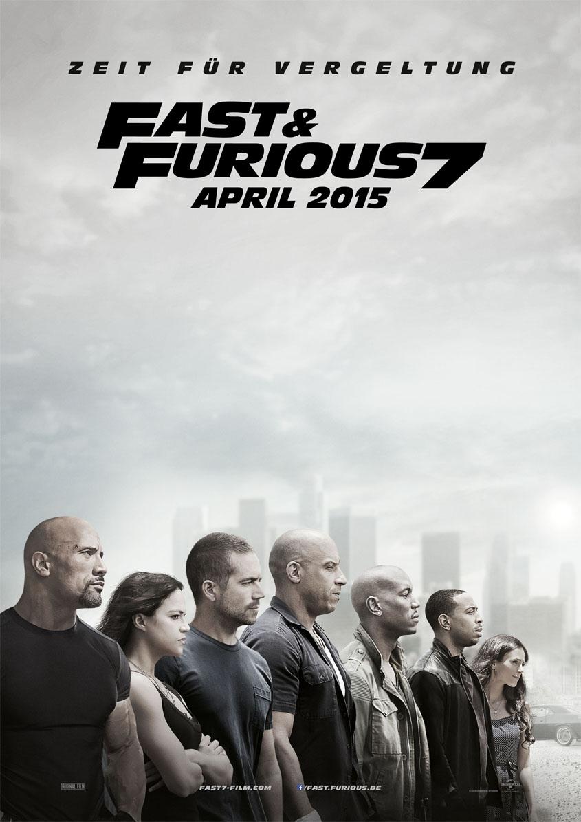 Fast & Furious 7 -Plakat