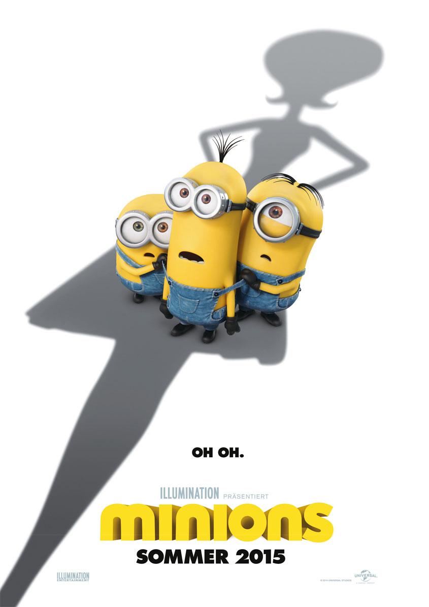 Die Minions- Teaserplakat