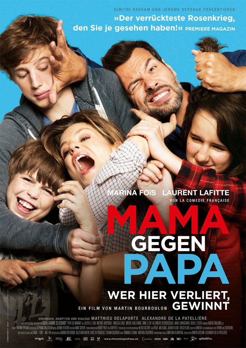 Mama gegen Papa - Filmplakat