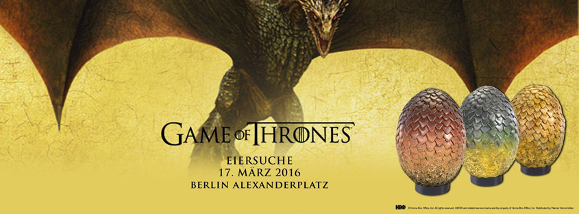 Game of Thrones - Eiersuche