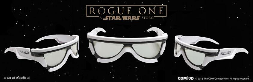ROGUE ONE - STAR WARS STORY- limitierte 3D-Brillen Storm Trooper