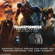 Gewinne Transformers The Last Knight
