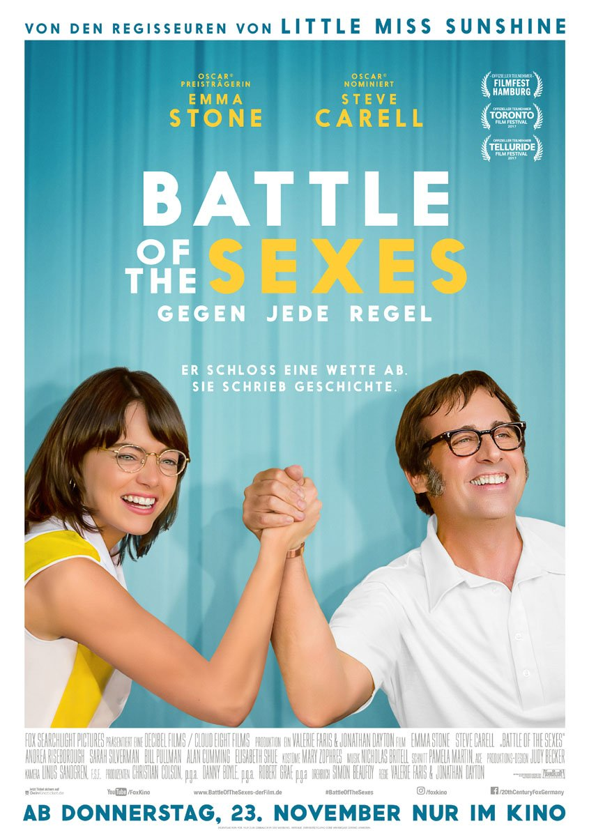 Battle Of The Sexes - Poster