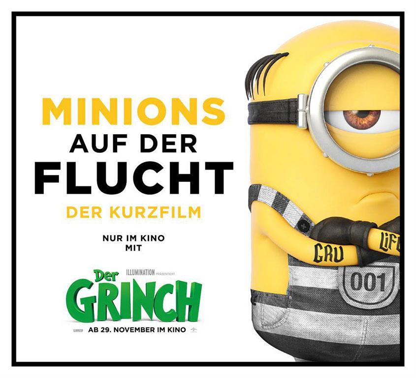 Minions auf der Flucht_Kurzfilm_Grinch