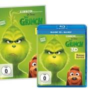 Der Grinch- DVD Blu-ray 3D- Heimkino