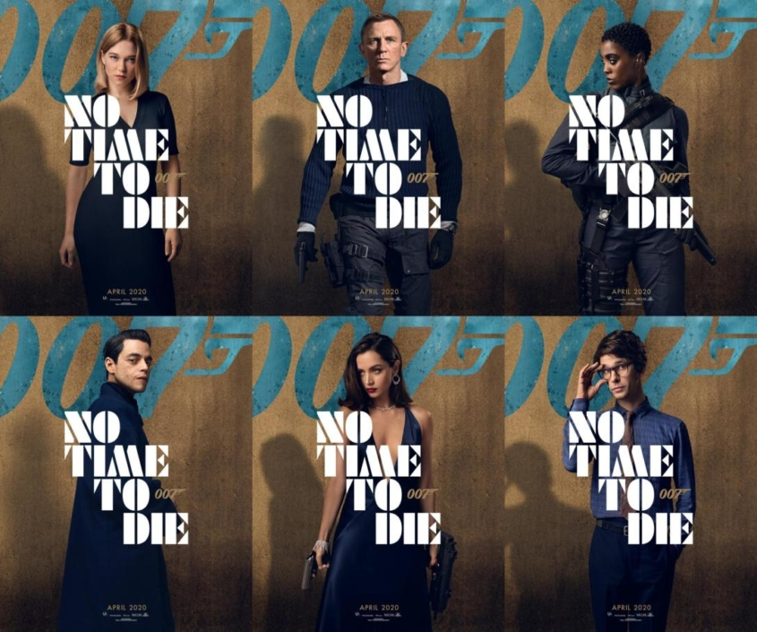 no-time-to-die-character-posters