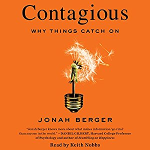 Contagious Audiobook Cover