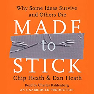 Made to Stick Audiobook Cover