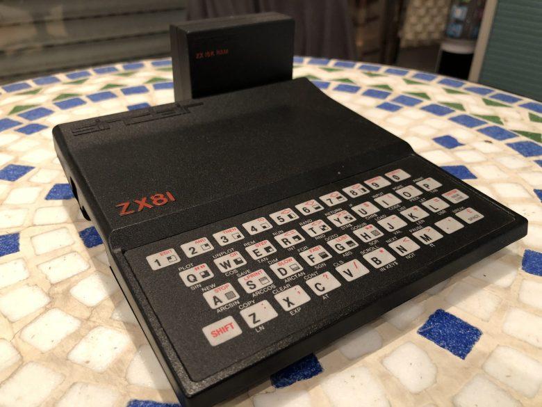 Mein Sinclair ZX81 mit einem Sinclair 16k RAM Pack