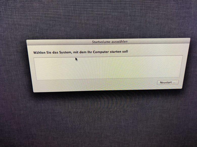 Die SSD zeigt sich immer noch nicht. SSD plötzlich leer.