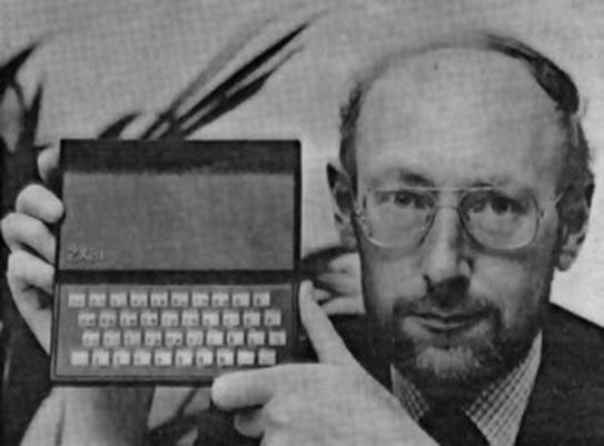 Sir Clive Sinclair stellt den ZX81 vor.