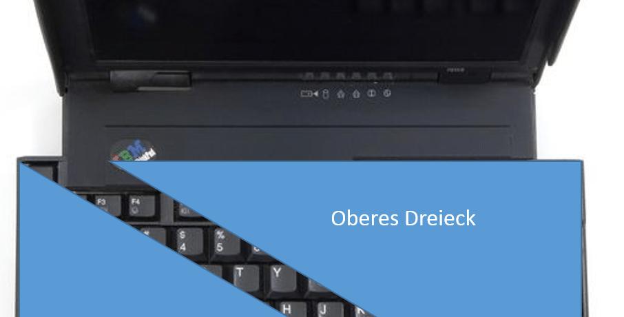 IBM Thinkpad 701CS ausfaltbare Tastatur