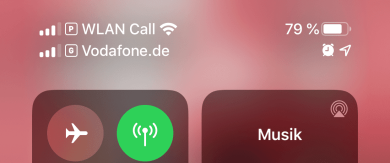 Zwei SIM-Karten im iPhone.