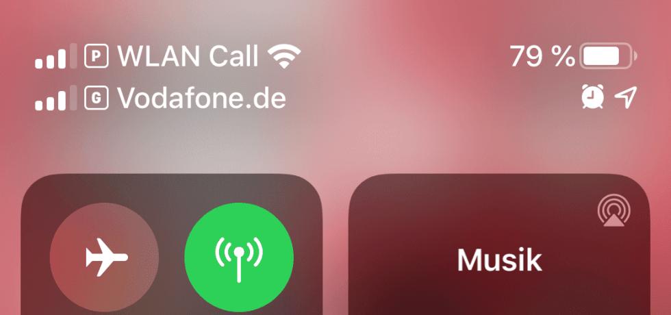 Zwei Telefonkarten in iPhone 11 Pro Max
