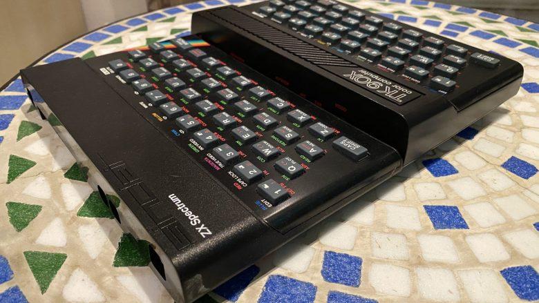 ZX Spectrum und TK90X - britische Computer der 80er