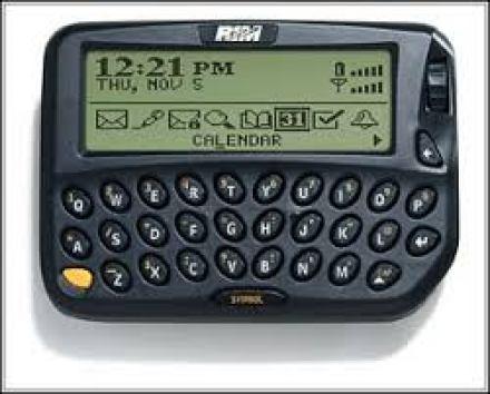 Das BlackBerry 850
