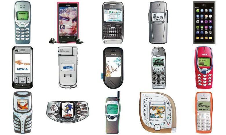 Eine Übersicht von Nokia-Feature Phones. Digitales Leben in Vergangenheit, Gegenwart und Zukunft