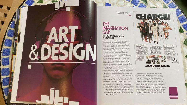 Erläuterung des Imagination Gap zwischen der Realität auf dem Bildschirm und in der eigenen Vorstellung oder der der Künstler.